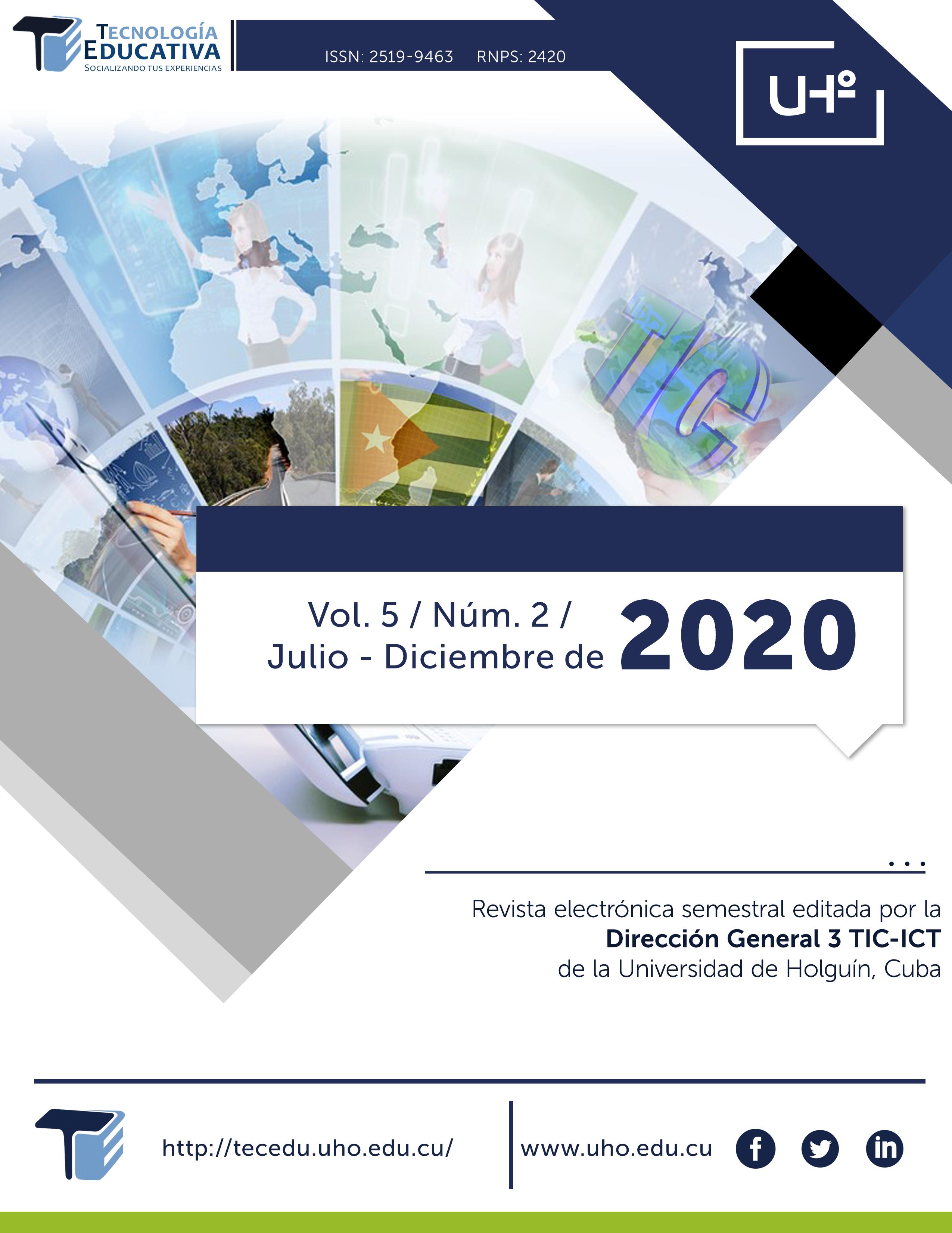 Ver Vol. 5 Núm. 2 (2020)