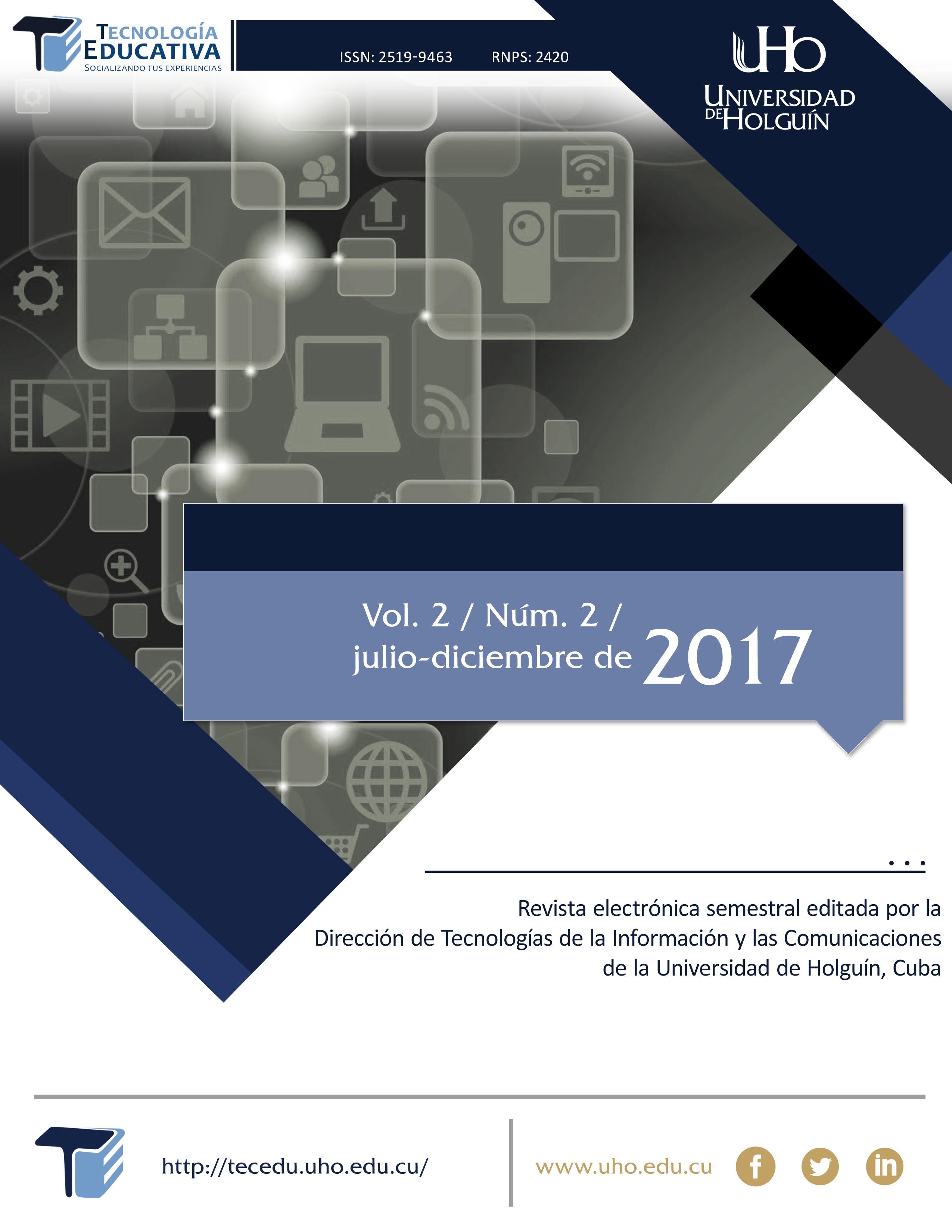Ver Vol. 2 Núm. 2 (2017)