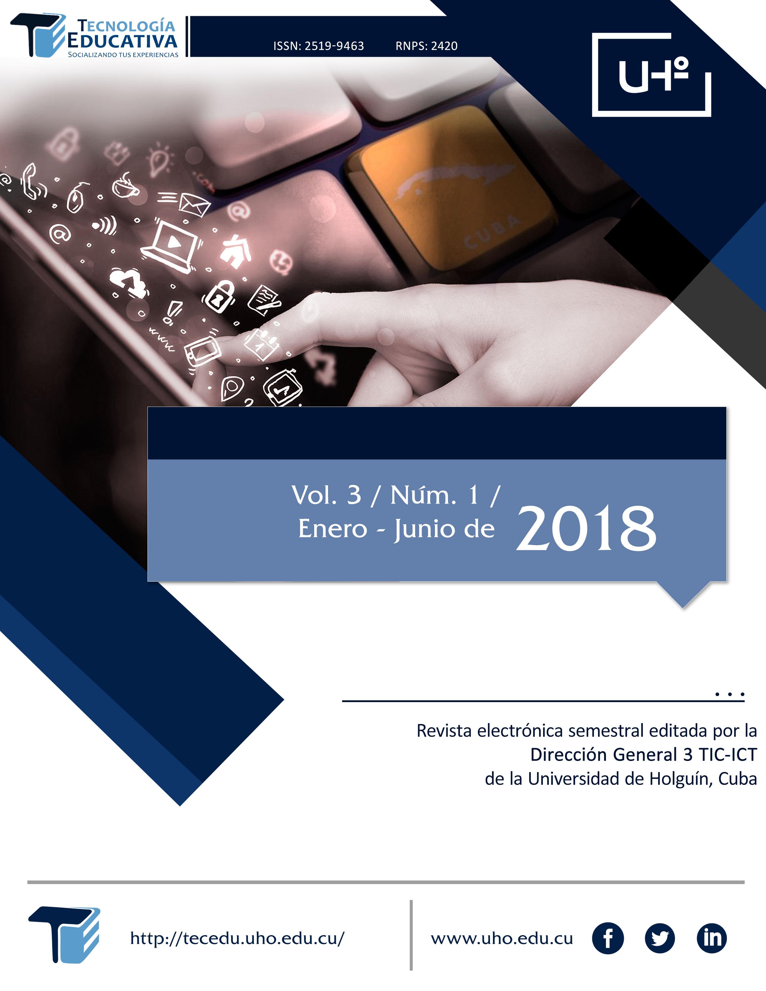 Ver Vol. 3 Núm. 1 (2018)