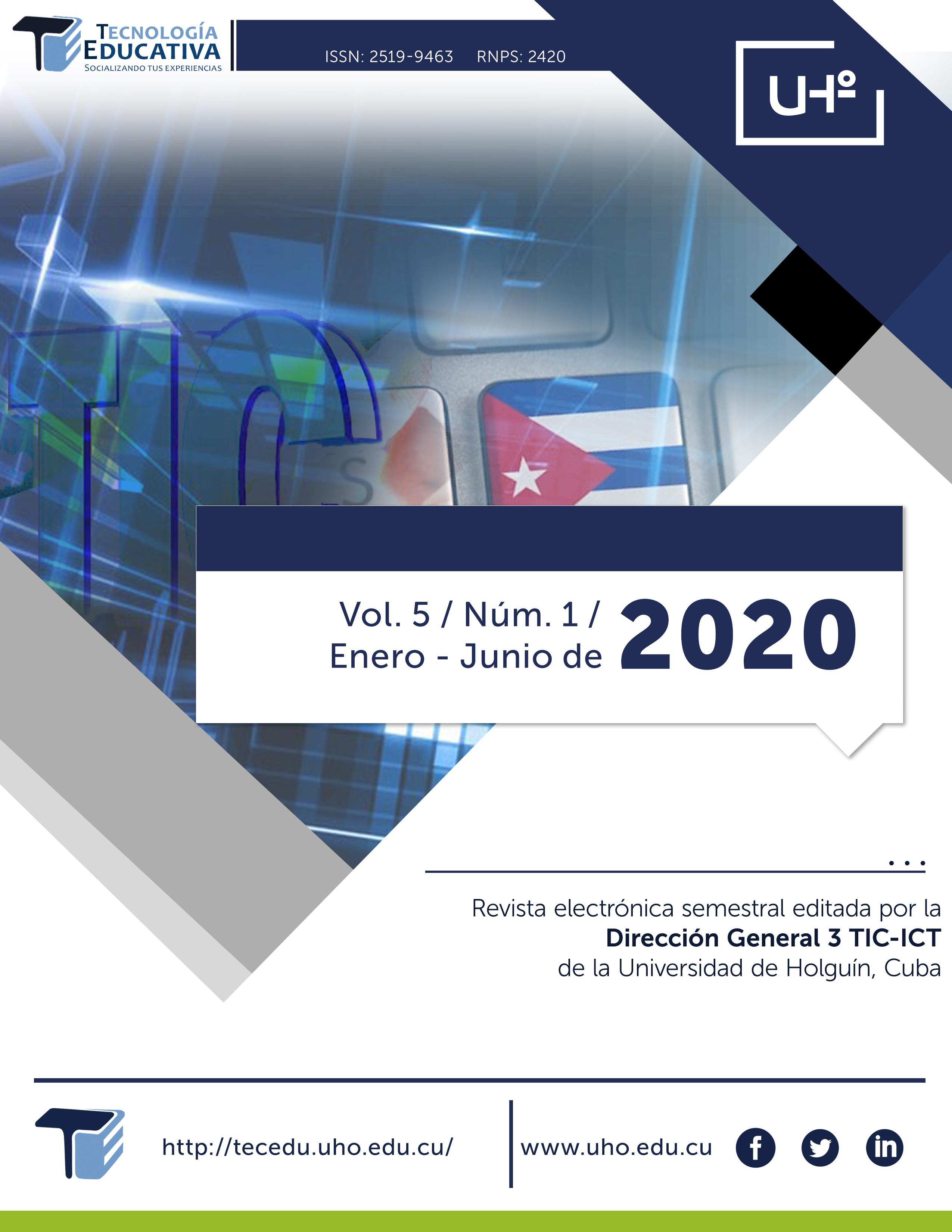Ver Vol. 5 Núm. 1 (2020)